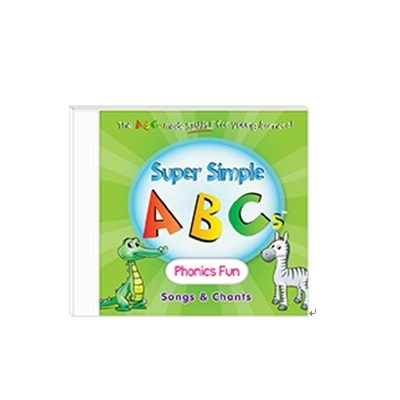 美國Super Simple Songs CD-ABC Phonics Fun 自然發音歌謠