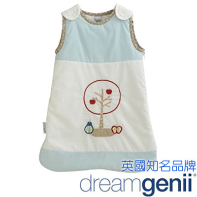 英國 Dreamgenii 防踢被嬰兒睡袋 Sleeping Bag 粉藍色水果 L號