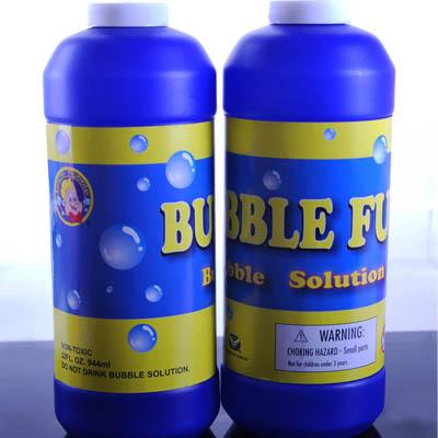 Uncle Bubble七彩連續泡泡水補充瓶32OZ(4瓶)