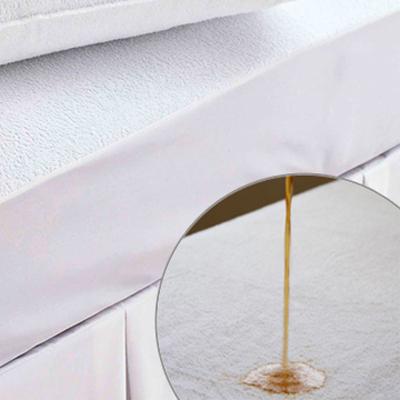 義大利La Belle《防蹣抗菌透氣防水-毛巾布包覆式保潔墊》-- 單人