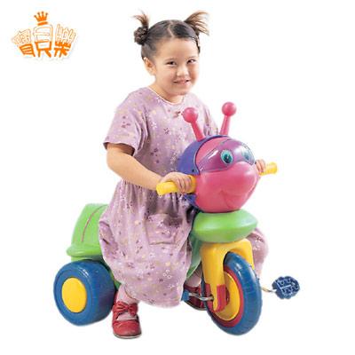 寶貝樂 繽紛小蜜蜂兒童三輪車【TR-02】(MT0086)