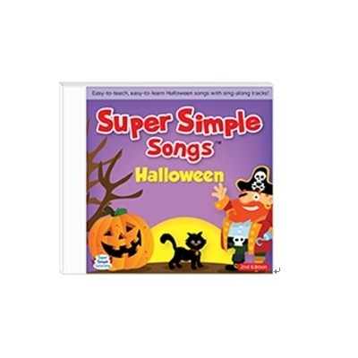 美國Super Simple Songs CD-Halloween 萬聖節歌謠