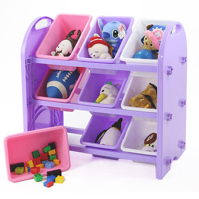 【特賣】DELSUN [8509TP] 兒童玩具收納架 春夏新款 9格收納 雜物收納 塑膠收納架 DIY 台灣製造