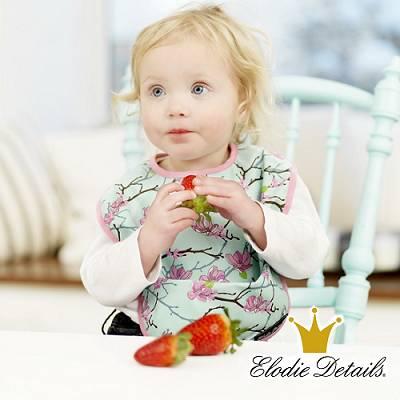 【瑞典ELODIE DETAILS】北歐時尚精品防水口袋圍兜- 小蘋果(Apple of My Eye)