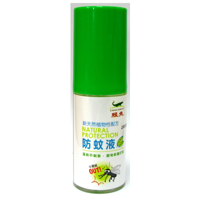 鱷魚天然植物防蚊液(80mlx6罐入)