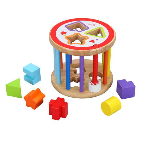 Classic world 德國經典木玩 客來喜 形狀對應 木製幼兒益智玩具