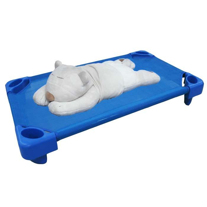 DELSUN 兒童簡易睡床(8902-1) 小張 藍色睡床 網布睡床 寵物 DIY 台灣製造 安檢