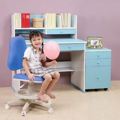 C&B 快樂學習機能型成長書桌椅三件組
