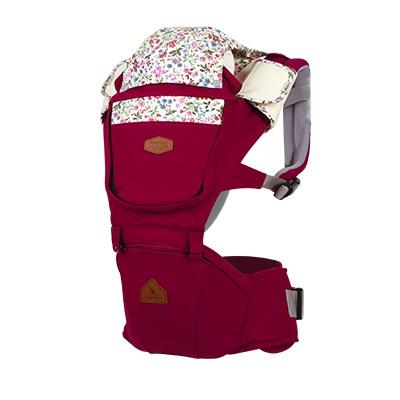 【 i-angel 】 FLEUR 芙樂系列 座椅式背帶 - 梅紅色
