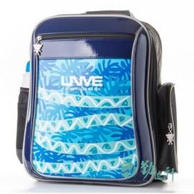 特賣【UnMe】叢林系人體工學後背書包(藍色)