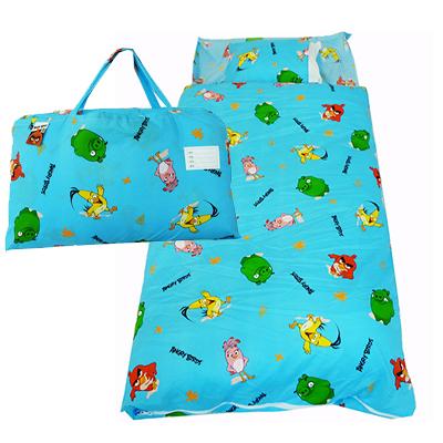 【開學午安被45折】Angry Birds憤怒鳥二用幼教兒童睡袋-快樂篇(藍)