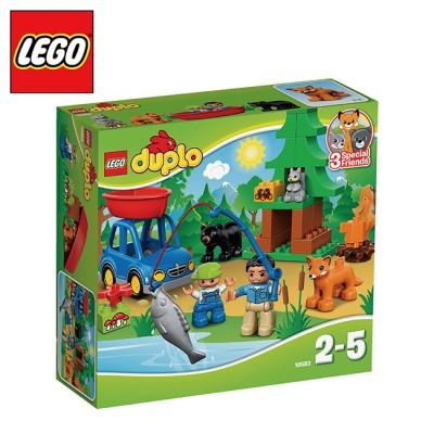 樂高【LEGO】得寶系列 L10583 森林釣魚之旅【創意積木折扣】