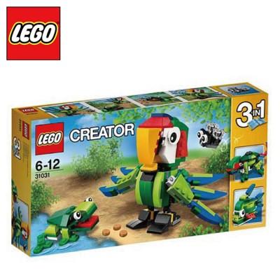 樂高【LEGO】CREATOR創作系列 L31031雨林動物
