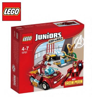樂高【LEGO】JUNIONR系列 L10721 Iron Man vs.Loki 鋼鐵人戰洛基