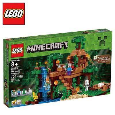 樂高【LEGO】L21125 Minecraft-The Jungle Tree House 當個創世神-叢林樹屋