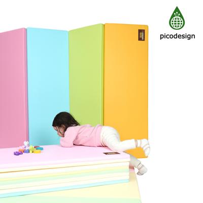 【Babytiger虎兒寶】Pico design 皮卡設計無毒地墊 - 大馬卡龍 四色墊 遊戲爬行地墊