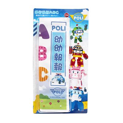 【 Babytiger虎兒寶 】MIT台灣製幼兒寶寶報紙救援小英雄-POLI 波力 ABC 款