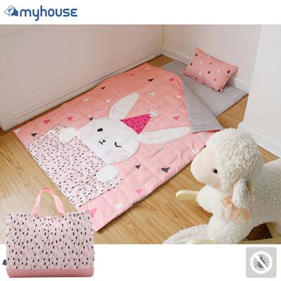 【 Babytiger虎兒寶 】myhouse 防?抗敏派對動物兒童睡袋 - 兔子梅莉莎
