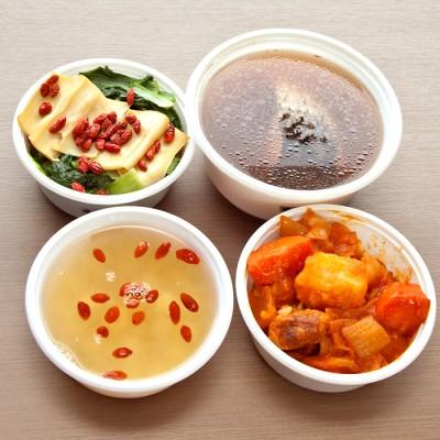 【康和食補藥膳】頂級坐月子餐外送(18碗) 1日餐