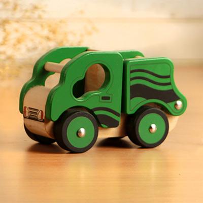樂兒學 兒童模型車木製學習積木-翻斗車(綠)(MT0463G)