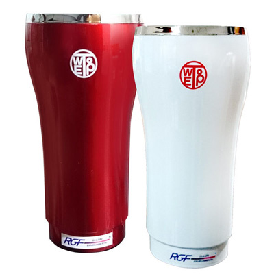 RGF Inside C100 PHI車用/家用空氣淨化器-白色/紅色