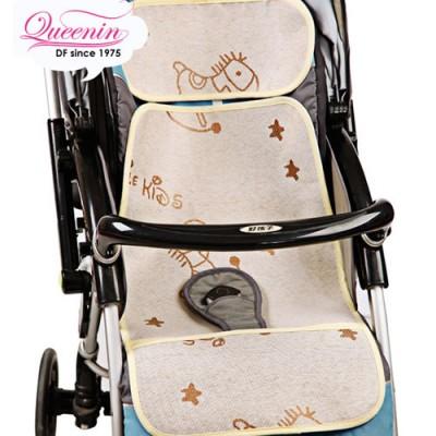 DF 童趣館 - 坐一夏!!三段式嬰兒推車透氣涼蓆