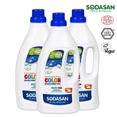 【特賣】[SODASAN德國舒德森] 天然洗衣精 1.5L x3瓶