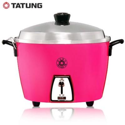 TATUNG 大同 電鍋 TAC-10L-SI 10人份電鍋 桃紅版 不鏽鋼 內鍋