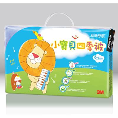 【3M品牌慶】3M新絲舒眠小寶貝專用被四季被(音樂會)(適用0-6歲)