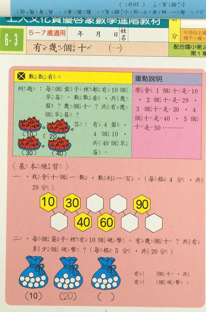 特賣【開學慶】上人文化資優數學國小一下(更新版)6~10冊