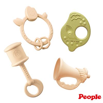 【兒童節破盤價】日本People-新茶與米的玩具4件組合(季節限定) 日本製