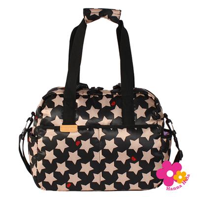 【特賣】【日本Hanna Hula】三用式棉花糖媽媽包空氣包(卡其星)