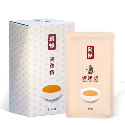 《寶島手路菜》有想法的~純煉滴雞精 4 盒(60ml/包 10包/盒) 共40包
