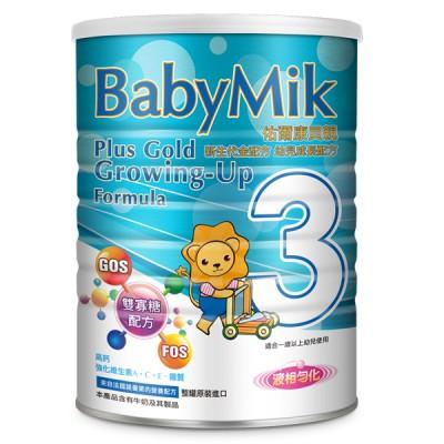 【BabyMik佑爾康貝親】新生代金配方幼兒成長配方900g(4罐)