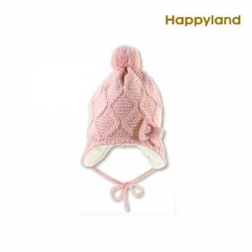 特賣【韓國 HAPPYLAND】2019FW童帽 針織護耳帽 內刷毛(保暖帽 護耳帽)