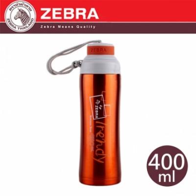 【斑馬ZEBRA】真空運動瓶 450ml (咖啡) 112822BN