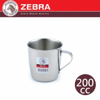 【斑馬ZEBRA】#304不鏽鋼附耳口杯 2C15 /200cc 112507