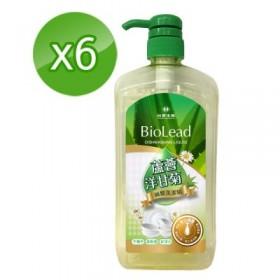 特賣【台塑生醫】BioLead蘆薈洋甘菊碗盤洗潔精1000g (6瓶/組)