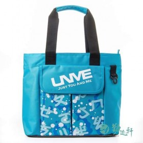 特賣【UnMe】ㄅㄆㄇ多功能手提袋(粉藍)