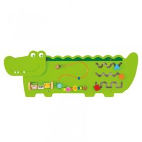【特賣】超可愛鱷魚多功能學習玩具