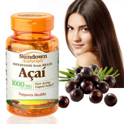 《Sundown》液態型巴西莓 1000mg(100粒/瓶)