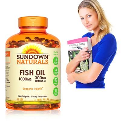《Sundown》高單位精純魚油(200粒/瓶)