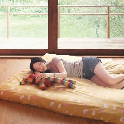 【契斯特】純棉花雲朵蓬鬆日式床墊-雙人5尺