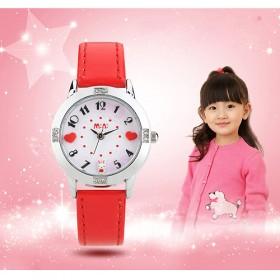 【卡通造型錶活動】【韓國MINI 】手工軟陶創意手錶-甜蜜兔-紅