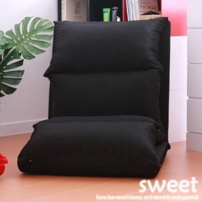 【E&J】SWEET 棉花糖和室/沙發床椅(兩色可選)- (黑色)