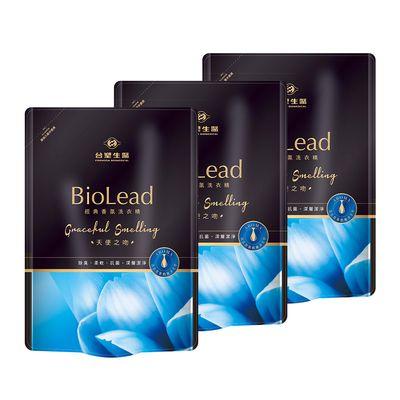 【買就送洗髮精隨身包】【台塑生醫】BioLead經典香氛洗衣精補充包 天使之吻1.8kg(3包入)