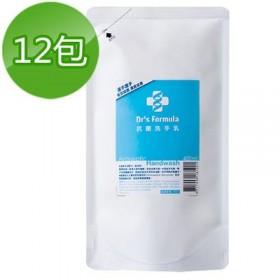 特賣《台塑生醫》Dr's Formula抗菌洗手乳補充包400ml(12包)