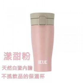 特賣【ikuk】陶瓷保溫杯大彈蓋520ml 漾甜粉