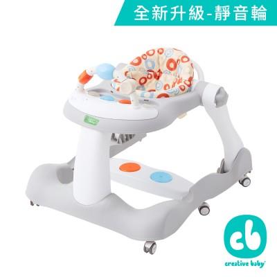 美國Creative Baby 創寶貝經典版-多功能音樂折疊式三合一學步車/助步車(Bouncy step)