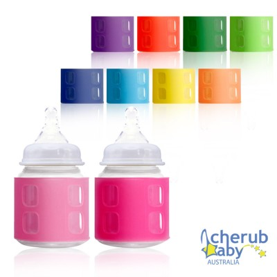 【特賣8折】Cherub Baby寬口奶瓶通用感溫套2入組